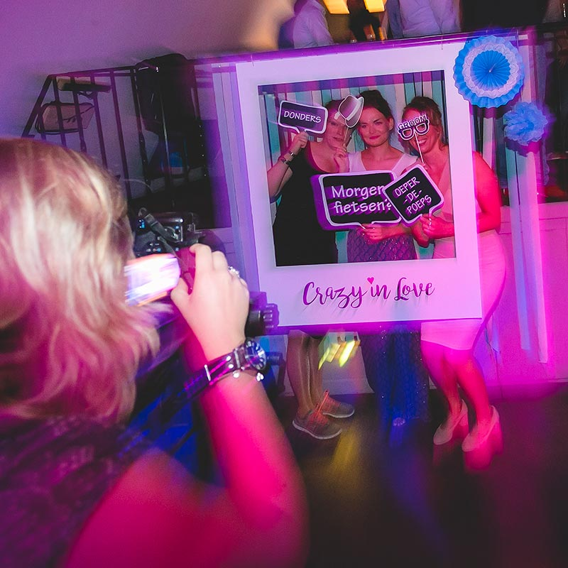 DIY Fotohoekje Bruiloftsstyling Joris Aben