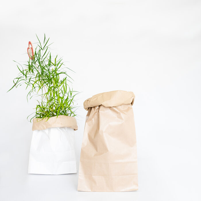 Paperbag bruin Liefslabel