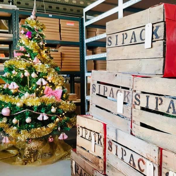 origineel kerstpakket sipack pakketdienst kerstpakketten liefslabel