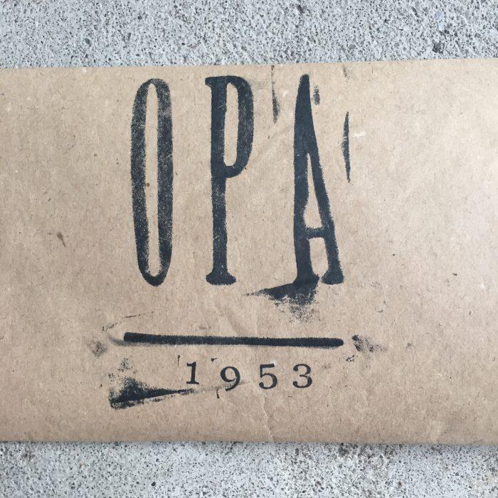 etiket opa bierfles liefslabel
