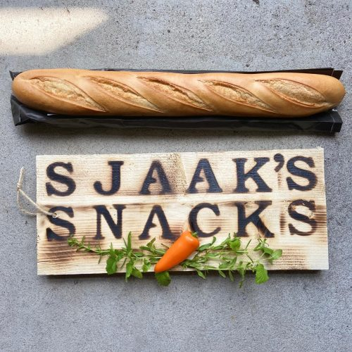borrelplank Liefslabel Sjaaks snacks