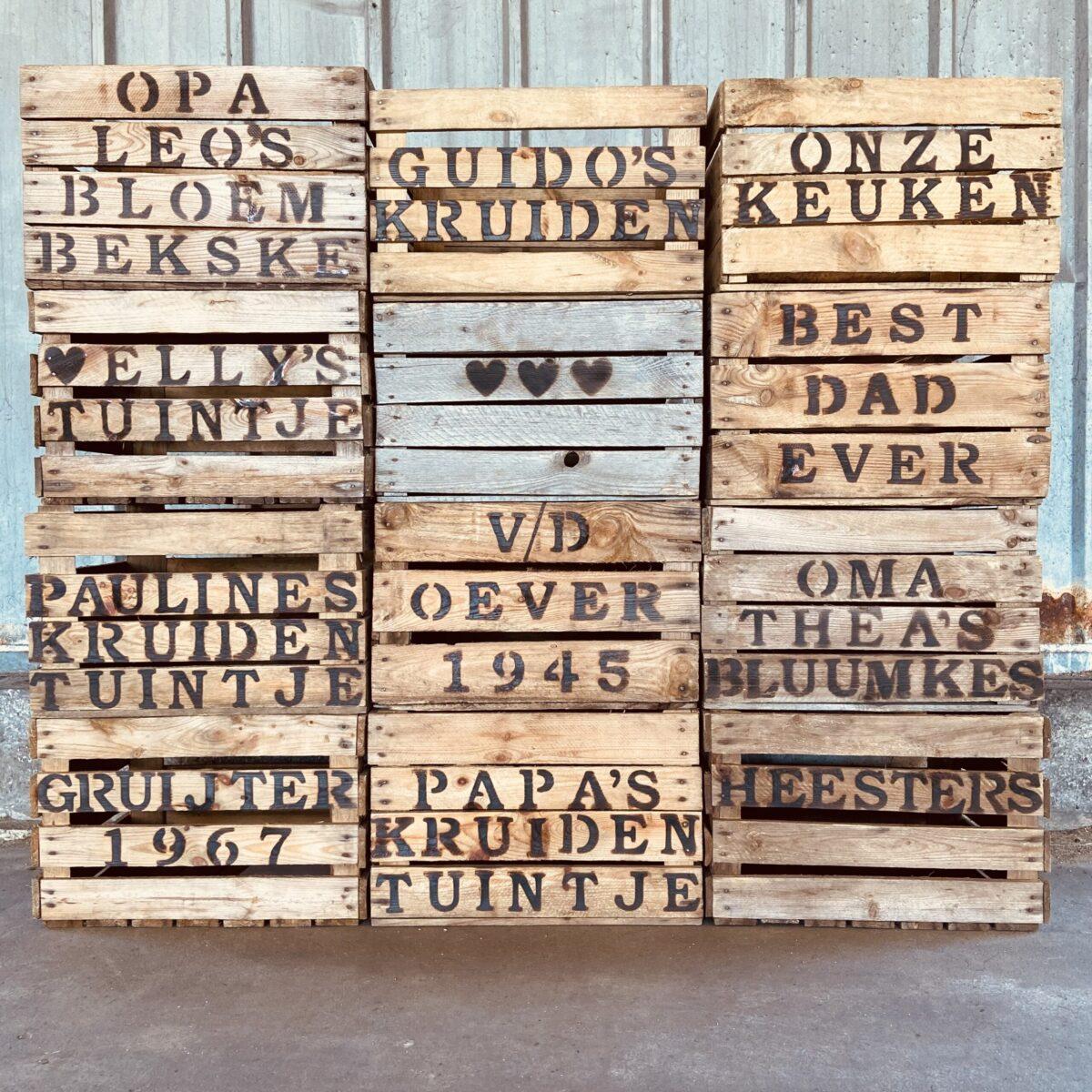houten kist met tekst inspiratie liefslabel