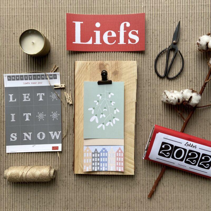 origineel kerstpakket liefslabel basis inhoud