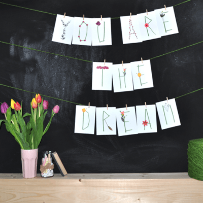 You are the dream decoratie inspiratie liefslabel