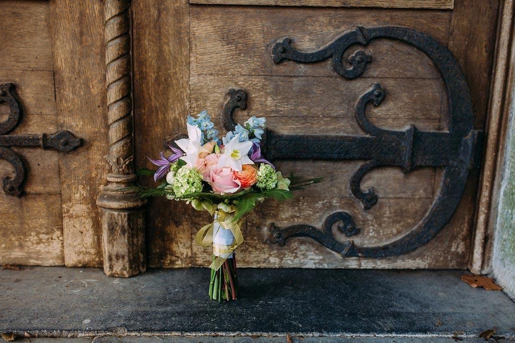 LiefsLabel Bren's Bruiloft Tips Boeketje