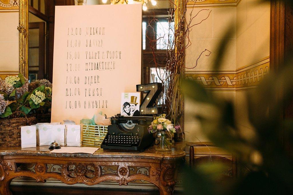 LiefsLabel Bren's Bruiloft Tips Dagprogramma
