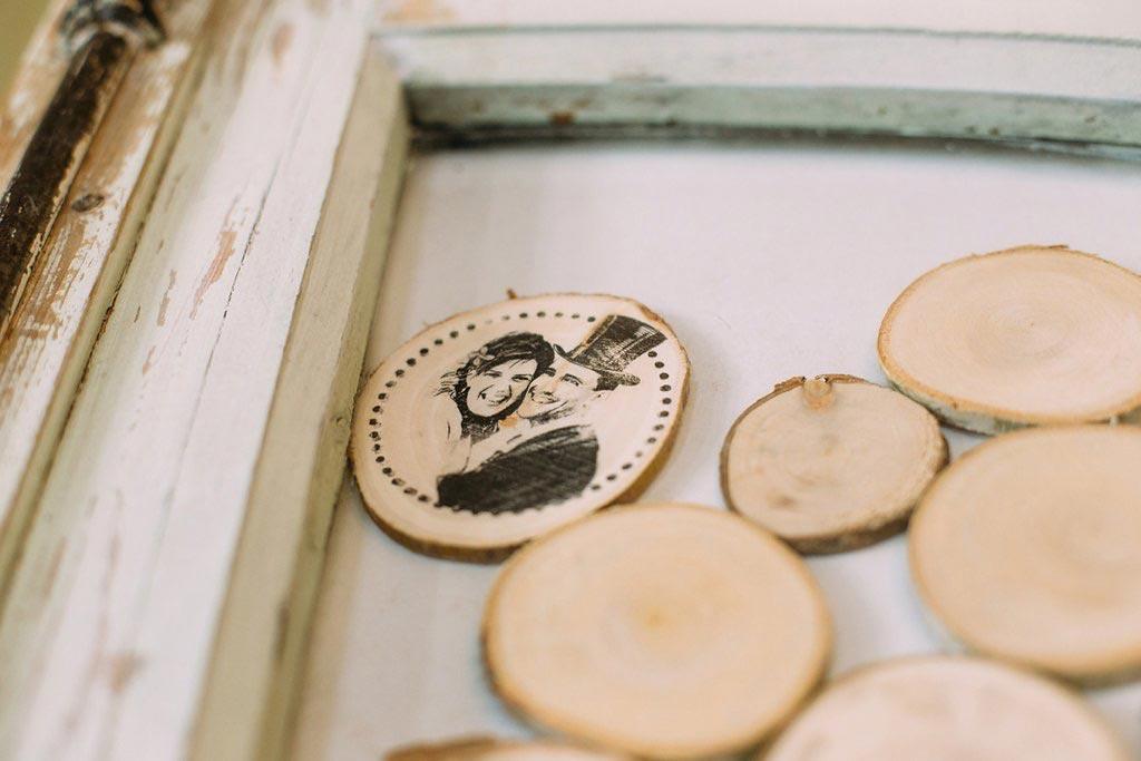 LiefsLabel Bren's Bruiloft Tips Gastenboek detail