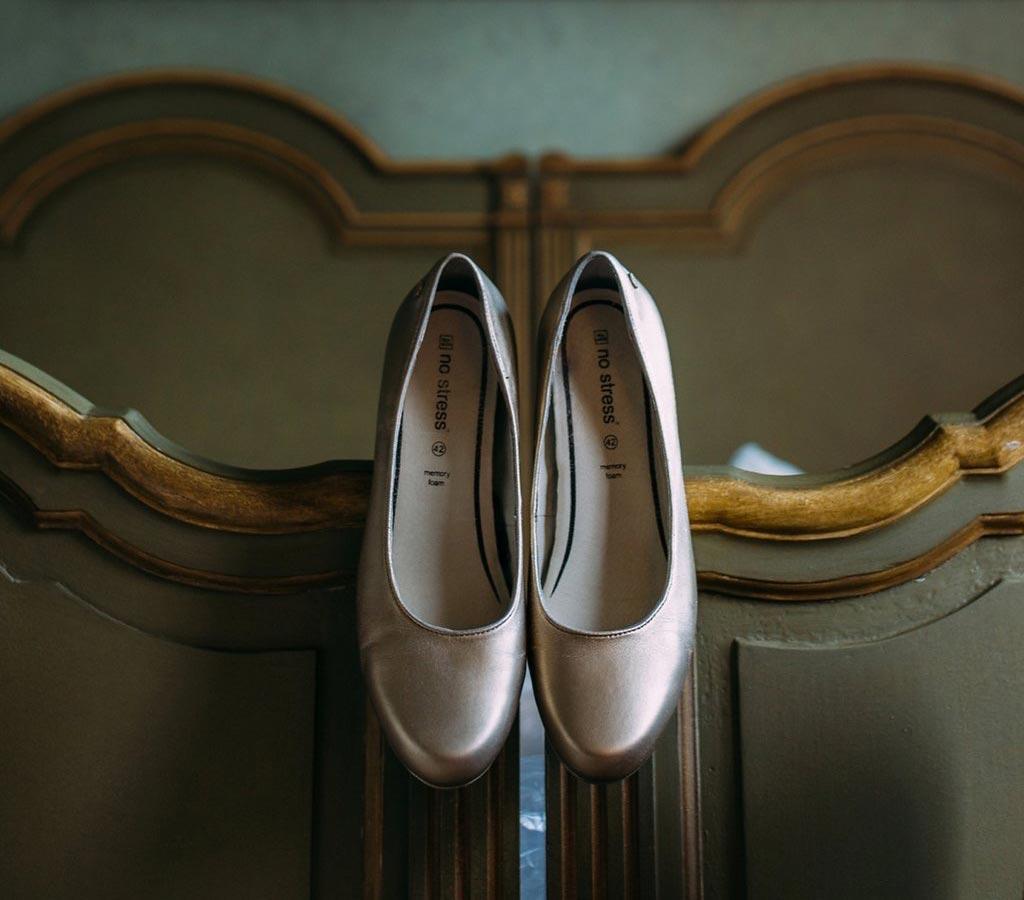 LiefsLabel Bren's Bruiloft Tips Gouden schoenen
