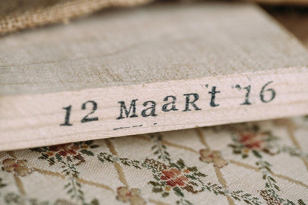 LiefsLabel Bren's Bruiloft Tips Ringenplankje