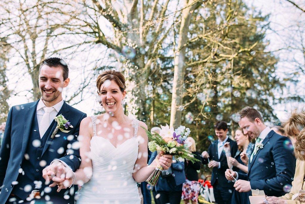 LiefsLabel Bren's Bruiloft Tips Robert & Brenda confetti