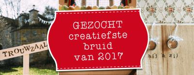 LiefsLabel Gezocht Creatiefste Bruid van 2017
