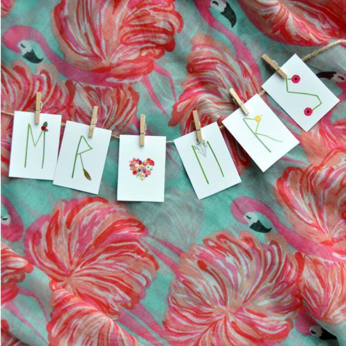 Mr & Mrs mini slinger