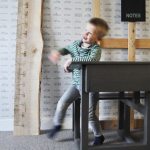 LiefsLabel houten meetlat kinderkamer