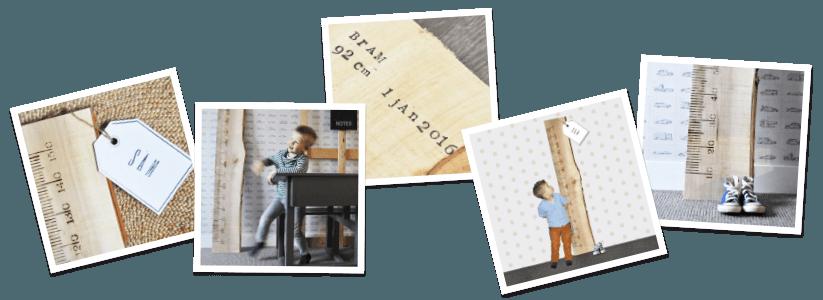 liefs liniaal-houten meetlat kinderkamer