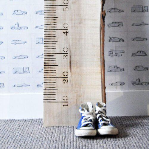 LiefsLabel houten meetlat groei